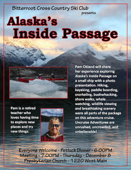 December 2016 Meeting – Alaska's Inside Passage