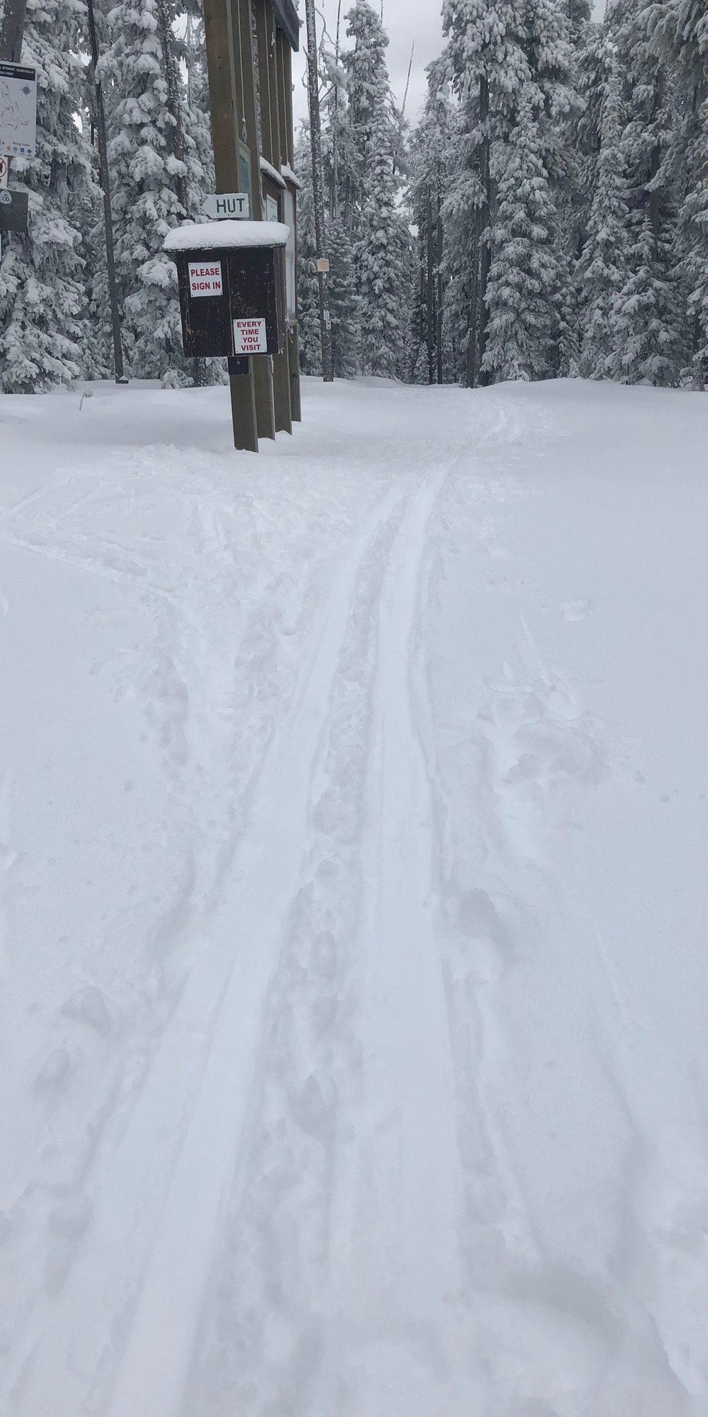 Trail Update Monday 12/18/2017
